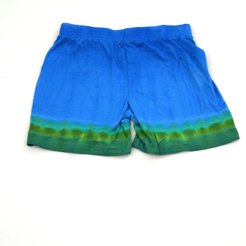 Dharma Trading Co. Size 6T Knee Deep ~ Tie Dye Ombre Baby Toddler Cotton Shorts with Elastic Waist One of a Kind