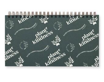 Plant Kindness Weekly Planner- Agenda | Desk Planner | Undated