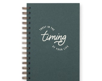 Timing Of Your Life Weekly Planner Journal - Agenda | Desk Planner | Weekly Planner | Journal | Undated