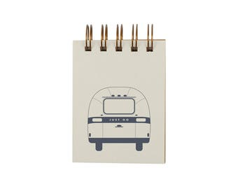 Mini Airstream Jotter - Notebook | Journal | Pocket Notebook | Spiral Bound | Blank Pages