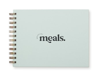Made With Love Meal Planner - Meal Planner | Weekly Food Planner | Undated | Shopping List