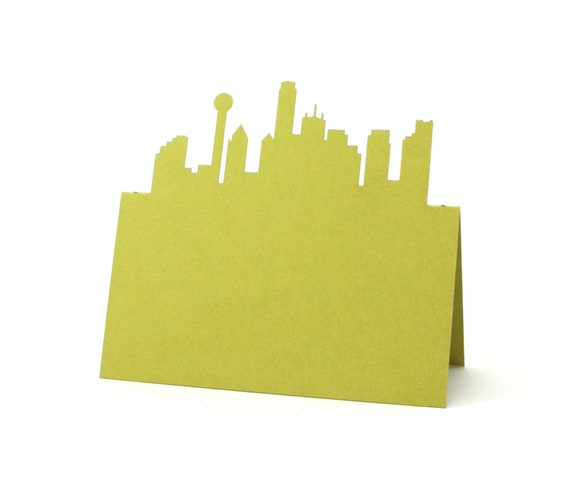 NYC Place Cards Bridal Shower setting cards NYC Wedding cards Skyline place card NYC Escort Cards Table Number card Brooklyn Bridge