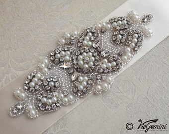 Wedding Belt, Bridal Belt, Sash Belt, Wedding Sash Belt