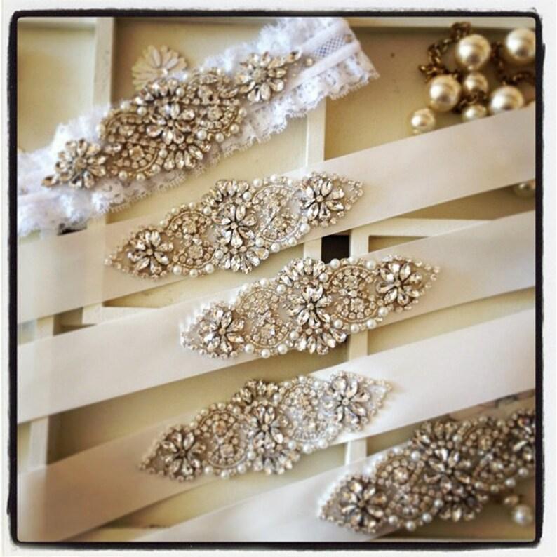Crystal Wedding Sash Bridal Belt Custom Wedding Belts and image 0