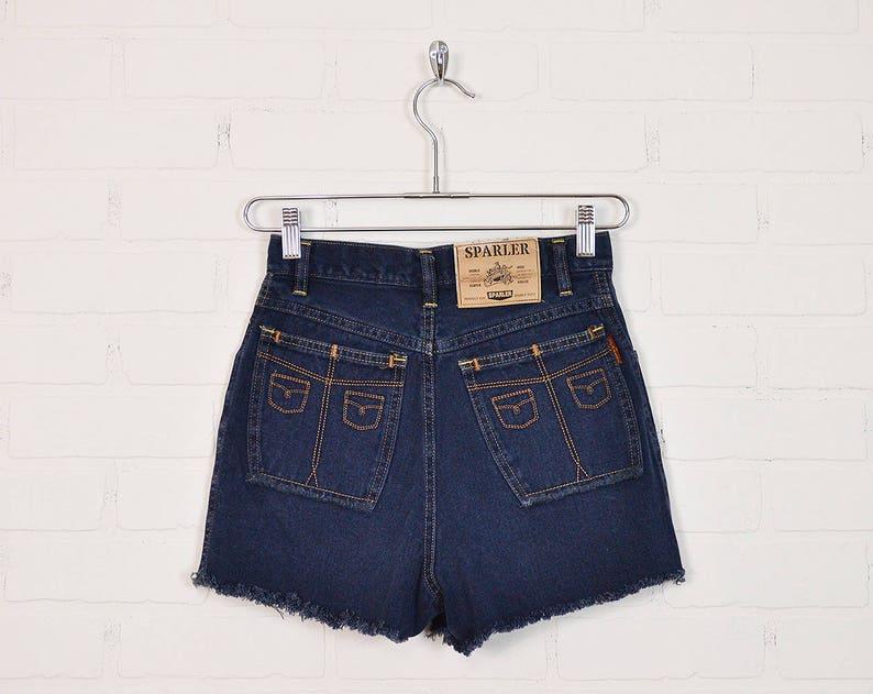 Vintage High Waist Jean Shorts Cut Off Jean Shorts Denim image 0