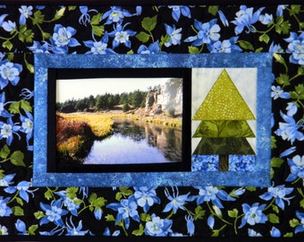 Pop Photos In & Out - 5 Options - Snapshot Wall Hanging - Paper Pieced - PDF Pattern