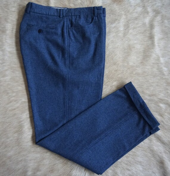 PIERO ZULIANI vintage bespoke wool trouser.