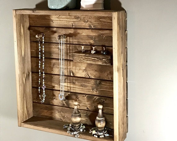 Jewelry Display organizer ,Unique Mom Gift, GIft for Mom, Farmhouse Gift for Mom, Made for Mom, Nana Gift