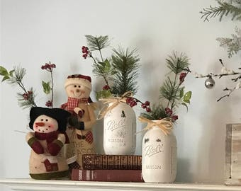 christmas decorations rustic christmas decorations mason jar christmas vintage christmas decorations rustic christmas rustic farmhouse