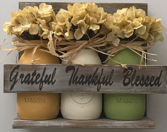 Mason Jar, Rustic Country, Rustic Kitchen Decor, Rustic Country Decor, Kitchen, Mason Jar Decor, Housewarming, Mason Jars, Gift For Her