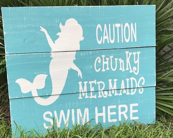 Mermaid, Mermaid Decor, Mermaid Signs, Signs For Pools, Personalized Mermaid, Personalized Pool Decor, Personalized Mermaid Sign, Pool