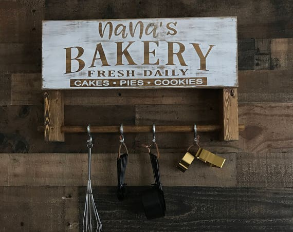 Personalized Kitchen, Personalized Kitchen Signs, Personalized Kitchen Decor, Kitchen Decor, Kitchen Signs, Rustic Kitchen Decor, Gift
