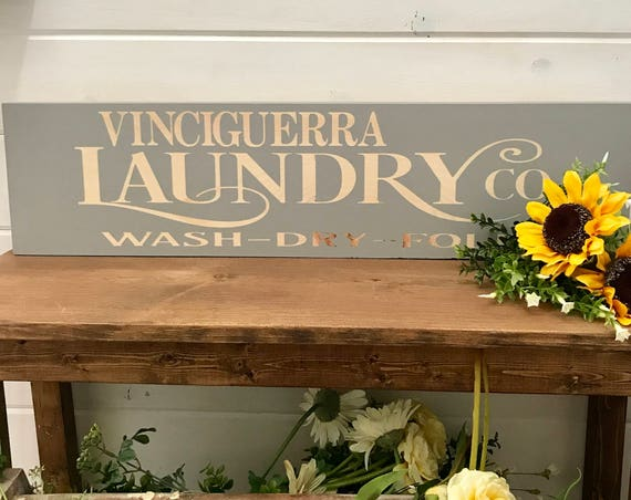 Home Decor Signs Rustic, Laundry Room Sign, Personalized Rustic Signs, Home Decor Farmhouse, Rustic Signs, Personalized Home Decor Signs