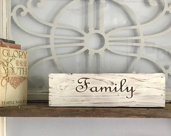 Wood Crate Box Personalized with Last Name, Comes in Many Stain Colors Pick your Color Now
