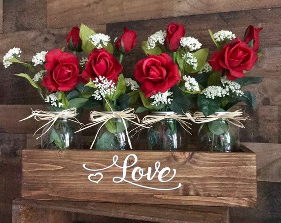 Mom Gift for Valentines Day, Valentines Day Gift for Her, Flowers for Mothers Day Gift, Personalized Valentines Gift