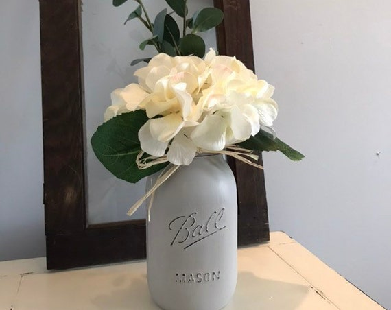 Wedding Table decor, Mason Jar Wedding Flowers, Rustic Wedding Table Arrangements, Mason Jars Decor