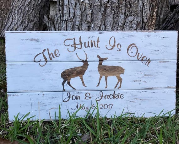 Welcome Sign Wedding Personalized Wedding Gift Personalized Wedding Sign Gift For Couple Wedding Gift Ideas Deer Sign Hunter Gift