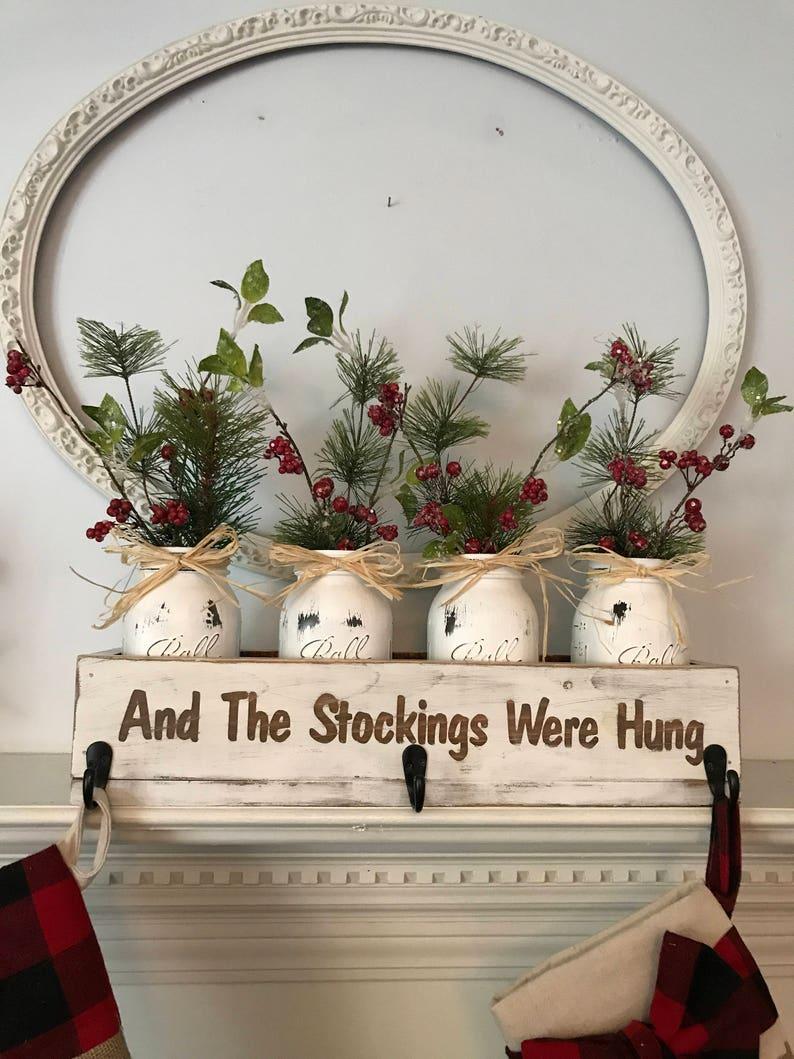 Christmas Stocking Holder Personalized Stocking Holder image 0
