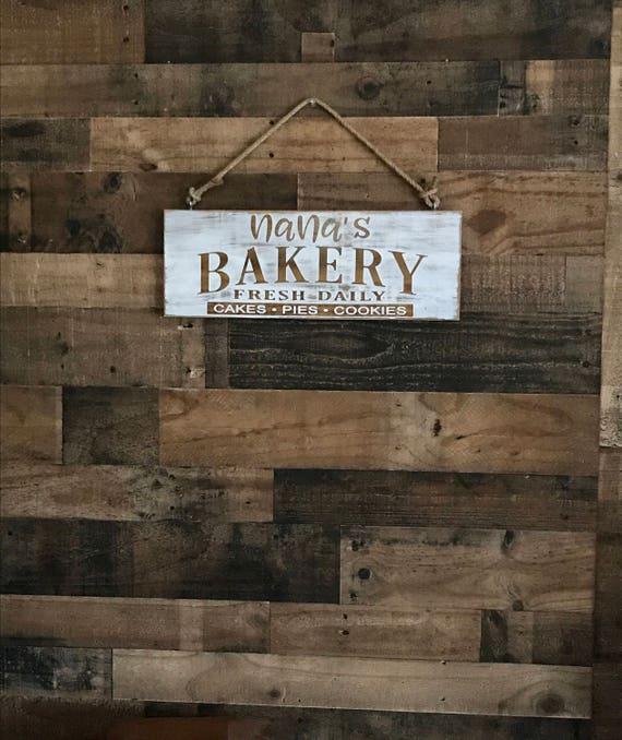 Kitchen Sign, Kitchen Decor, Rustic Kitchen,  Farmhouse Kitchen, Rustic Sign, Farmhouse Sign, Grandmas Kitchen, Nannas Kitchen, Moms Kitchen