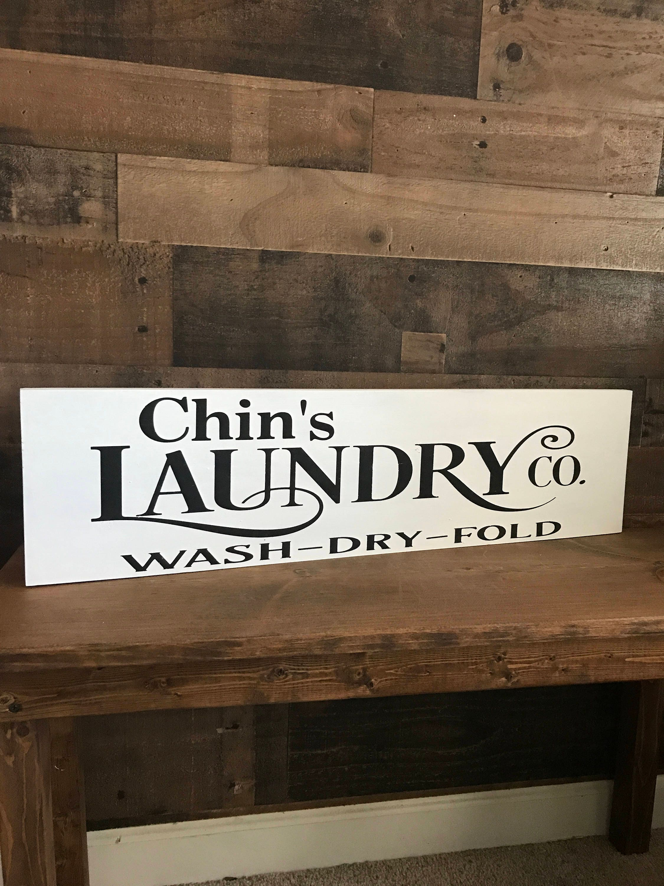 Rustic Wall Decor Sign Laundry Wall Decor Rustic Laundry