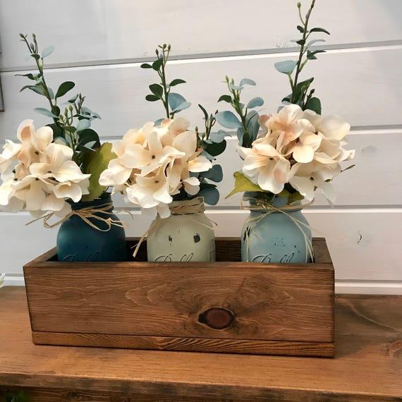 Rustic Wedding Decor, Centerpiece, Rustic Wedding Gift, Farmhouse Wedding Decor, Table Decor, Rustic Home Decor, Farmhouse Table, Arrangemen