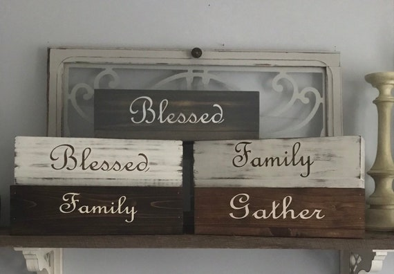 Personalized Mail Organizer with Last Name Mail Holder Wood Box Comes in Many Stain Colors Pick your Color Now