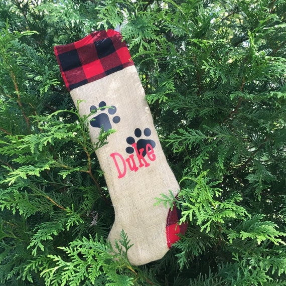 Custom Christmas Stockings, Family Christmas Stockings for Pets, Dog Stockings Monogrammed