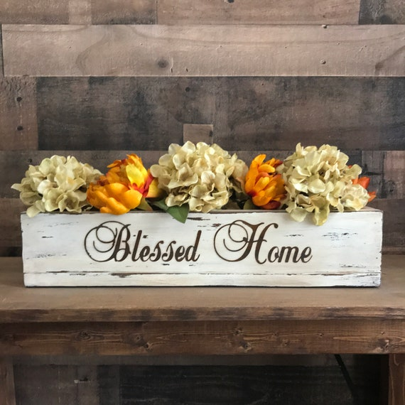Housewarming Gift Personalized, Fall Centerpiece, New Home Gift, House Warming Gift, Housewarming Decor Gift