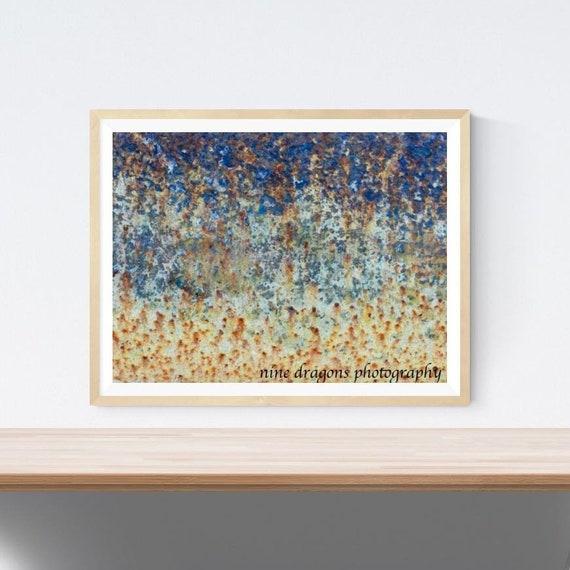 Abstrakte kunstdrucke industrielle wandkunst rustikal etsy - Abstrakte kunstdrucke ...