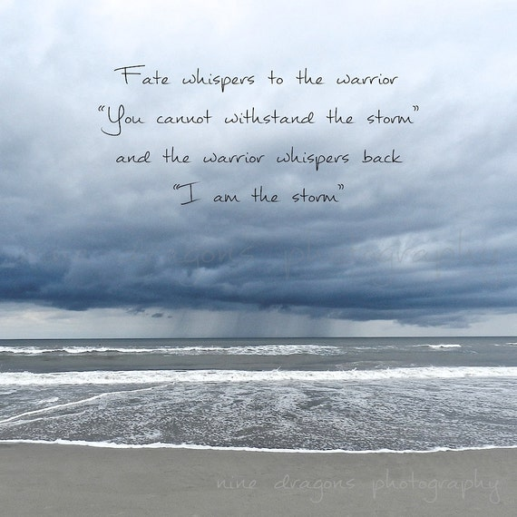 Inspirational Print Inspirational Quotes Beach Photography Etsy