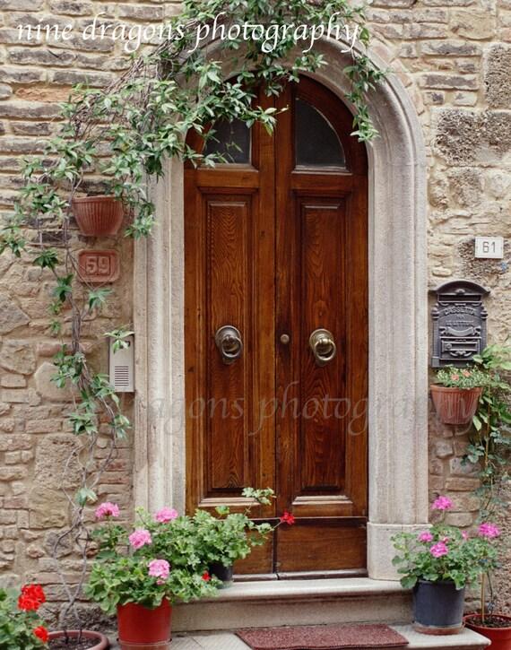 Rustic Door Photography Italian Art European Decor