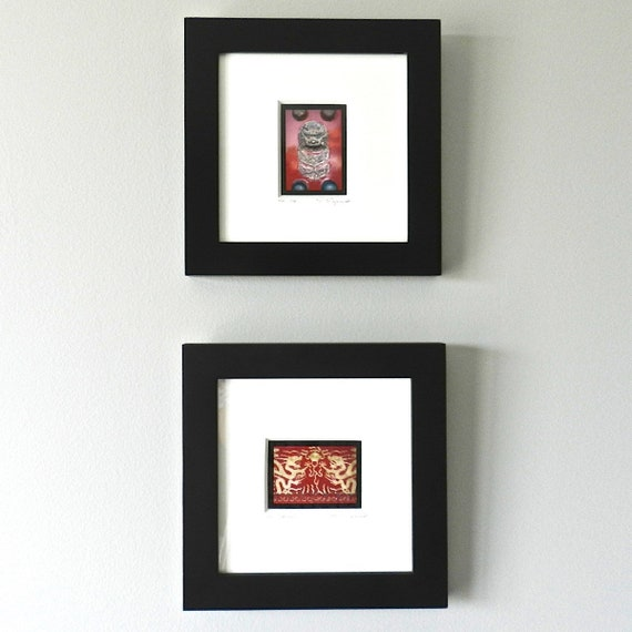 Framed Art Red Gold Asian Decor Framed Photography Chinese | Etsy