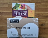Instant Pot Cheese Kit & Book Bundle - Instant Pot Cheese Book and Deluxe DIY Cheese Kit Included