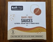 Dairy Free Sauce Kit - Make Alfredo, Fondue and Creamy Mac Sauces - Vegan, Paleo, Gluten-Free