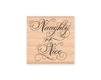 Christmas Naughty Nice Labels gift tags hobby crafting printables digital graphics instant download digital collage sheet VDLACM0934