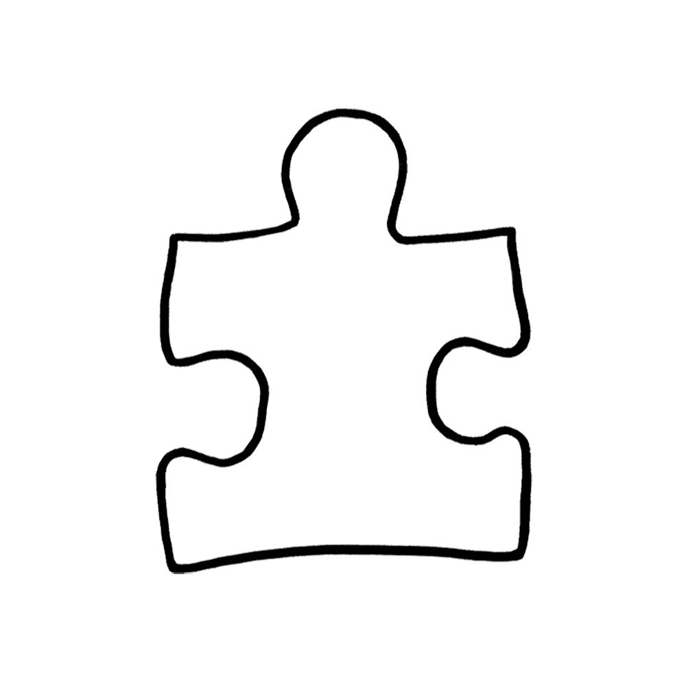 puzzle pieceautism symbolautism support symboltwo style