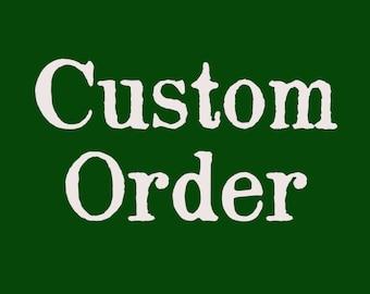 Custom order planting calendar