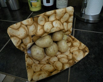 Microwave Potato Bag, Large, Corn Bag Cooker, Bread Warmer / House Warming Gift