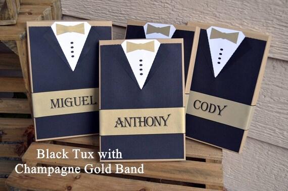 Will You Be My Groomsman Gift Box Tux Best Man Rustic Custom Gift Xl