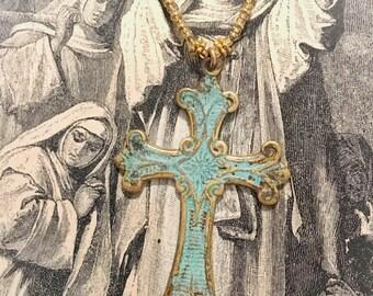 LILY LAMBERT Vintage Mary Cross