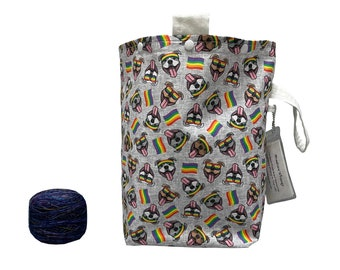 Pibble Pride Project Bag Bucket Bag extra tall