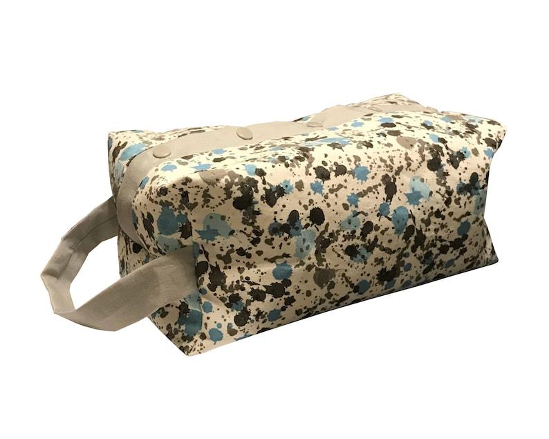 Paint Splatter Project Bag Boxy Bag