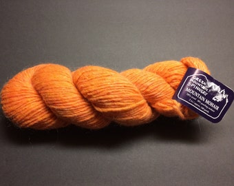 Green Mountain Spinnery Mountain Mohair, 1 Skein, Worsted Wool & Yearling Mohair Blend, 140 yds. Total, Color Daylily