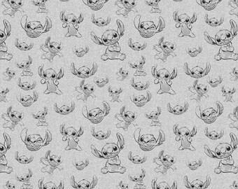 Fat trimestre Disney Frozen Olaf bonhomme de neige flocons de neige 100/% coton tissu de matelassage