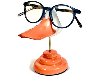 Duckbill eyeglass stand, Fun sunglasses display