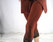 Lace Trim Legging
