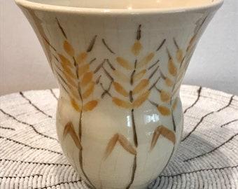 Mini vase, wheat field design