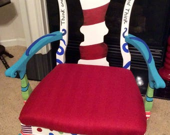 Charmant Dr. Seuss Chair, Made To Order