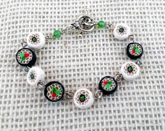 Sushi Roll Bracelet and earrings set