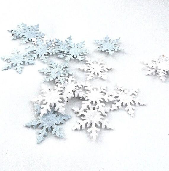 Items similar to plantable snowflake confetti, winter ...